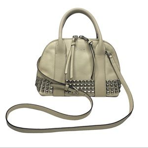Coach Mini Bleeker Preston Satchel Studded Leather